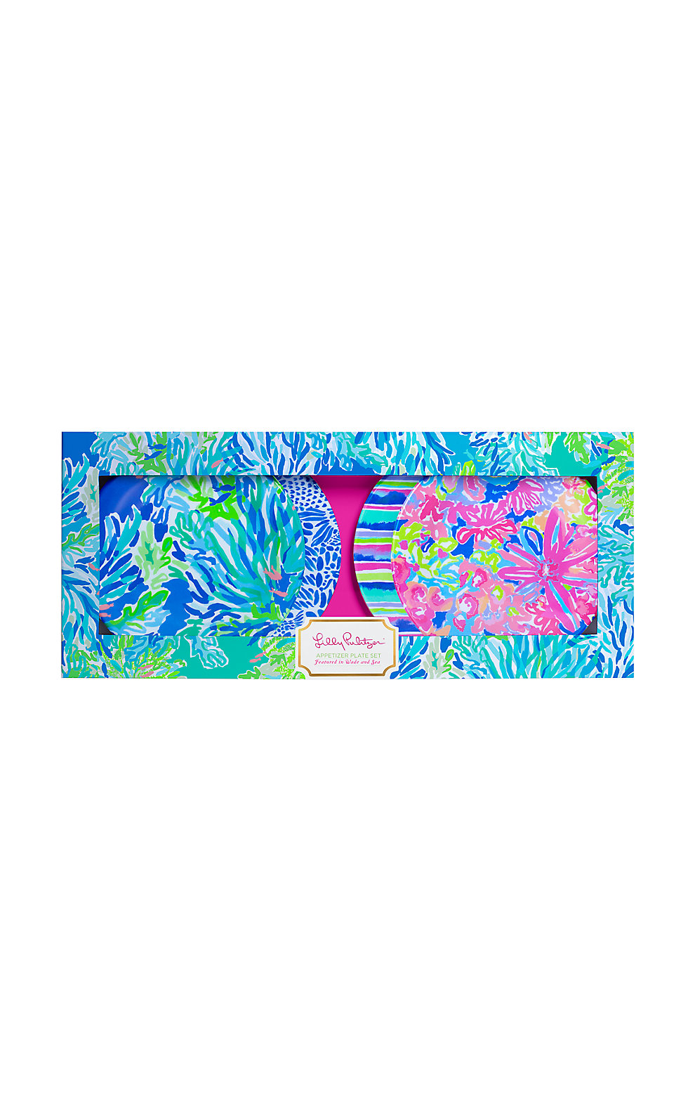 Lilly Pulitzer Appetizer Plates