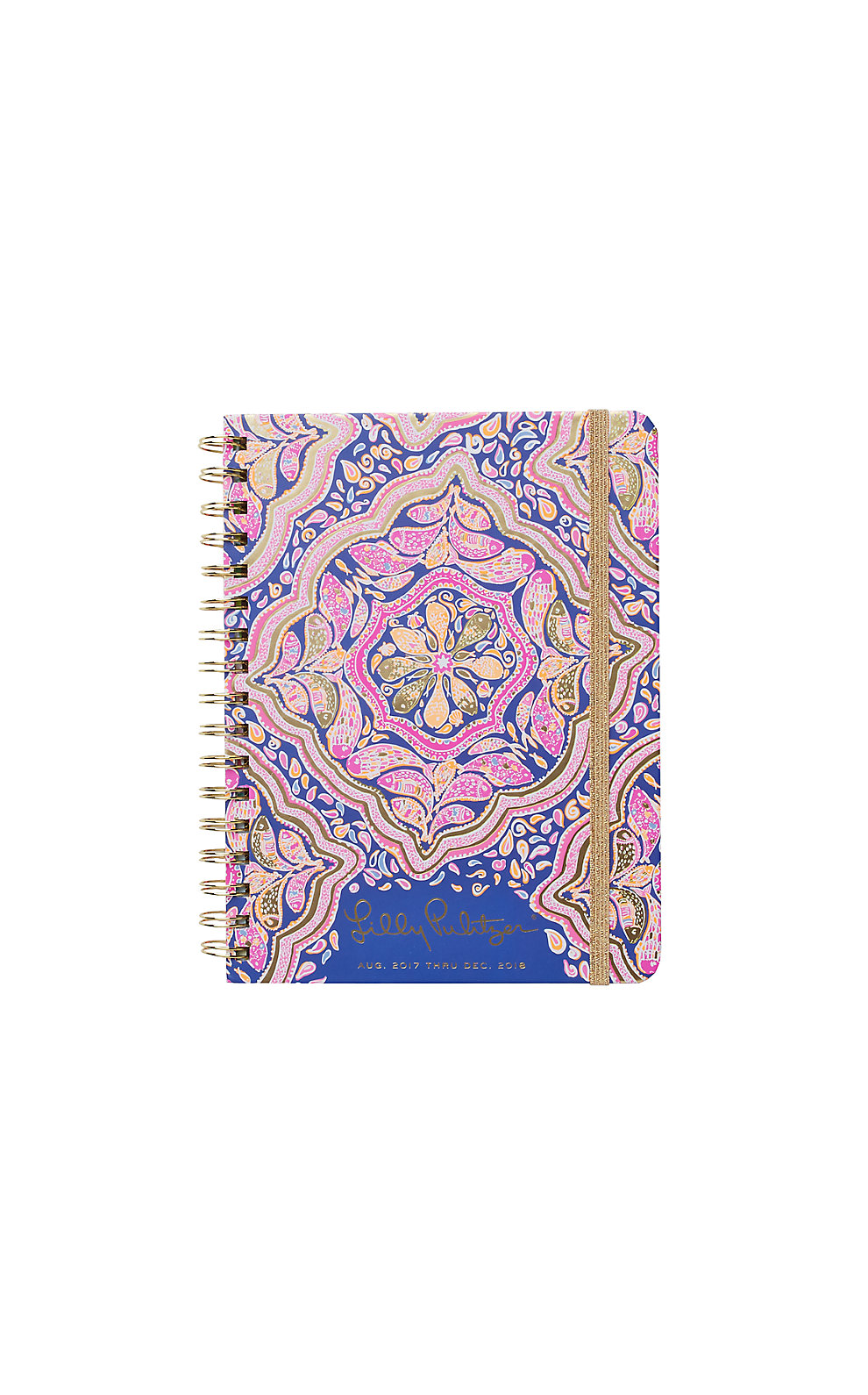 Lilly Pulitzer 2017-2018 Monthly Agenda - Can't Resist