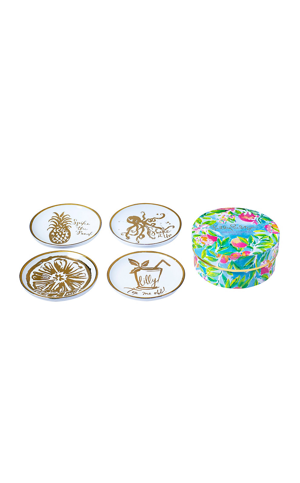 Lilly Pulitzer Ceramic Coasters