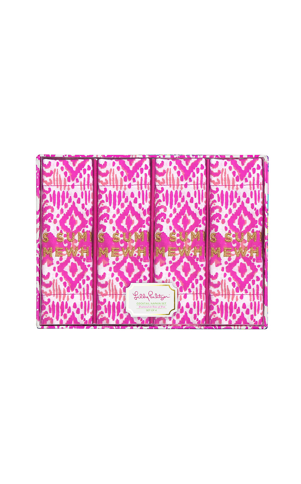 Lilly Pulitzer Cocktail Napkins