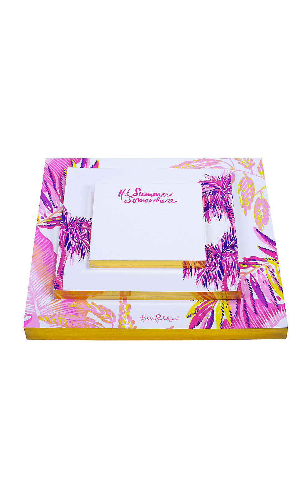 Lilly Pulitzer Notepad Set
