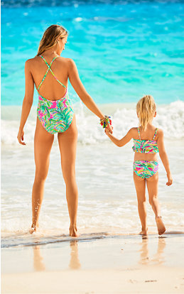 Matching Mom Shady Lady Swimsuits