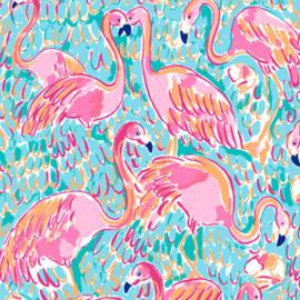 Lilly Pulitzer Flamingo Print